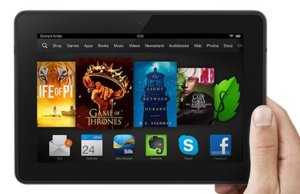 The new Kindle Fire HDX includes a little extra….person