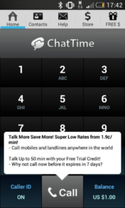Going away for Christmas? ChatTime – Another cheap calling solution while you're abroad