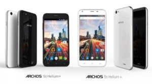 Archos 50 and 55 Helium Plus, UK-bound in July.