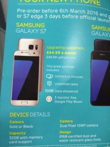 Samsung Galaxy S7 and S7 edge – Further details and photos