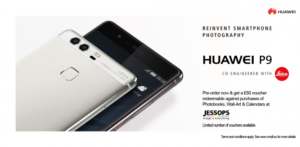Huawei P9 – Pre-order goodness with £50 of vouchers
