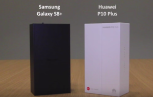 Face Off – Samsung Galaxy S8+ and Huawei P10 Plus