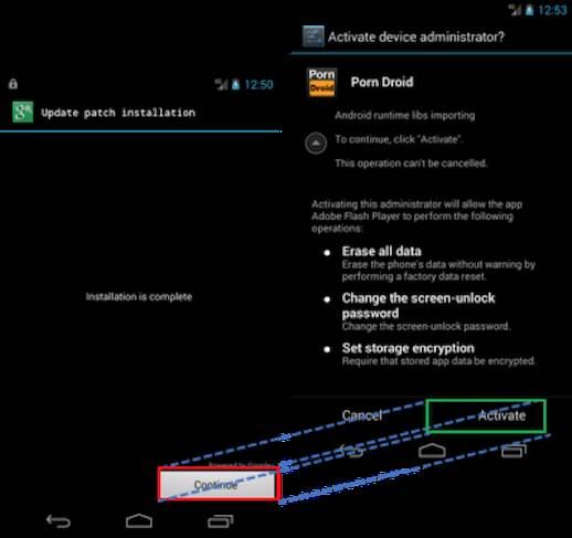 New Android vulnerability allows fake installer screens
