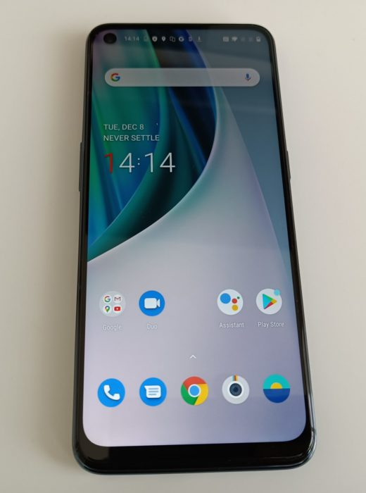 The OnePlus N10 5G Up close