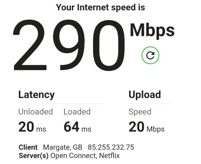Another real world 5G test